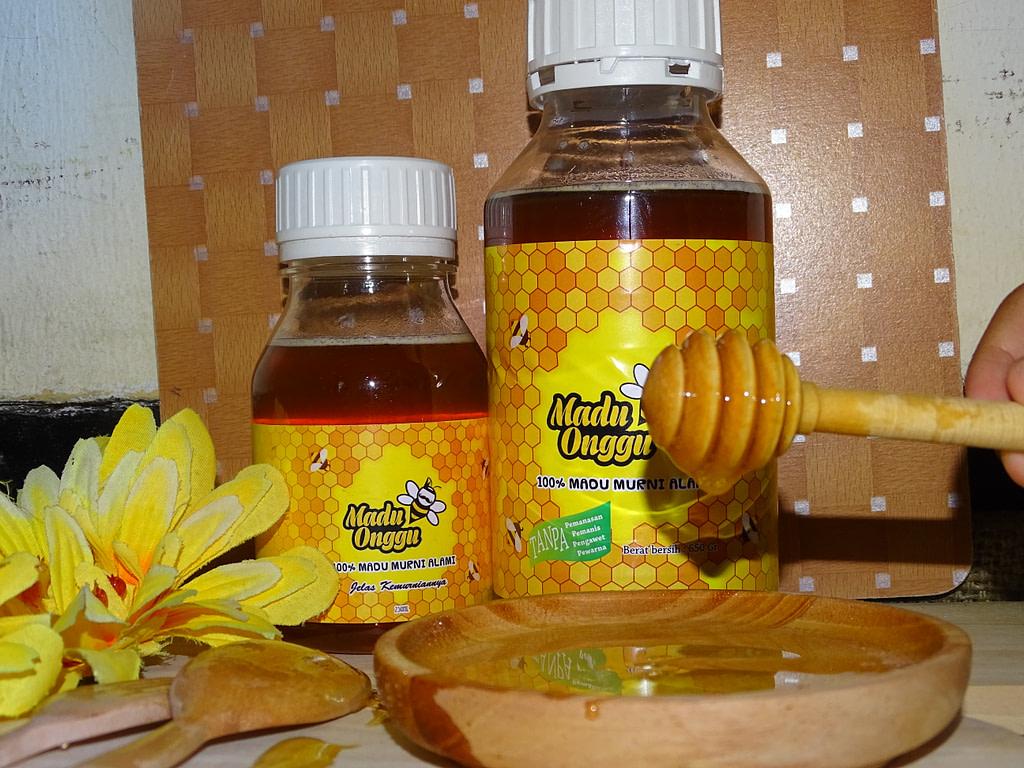 madu asli mellifera honey 325 dan 650 gram