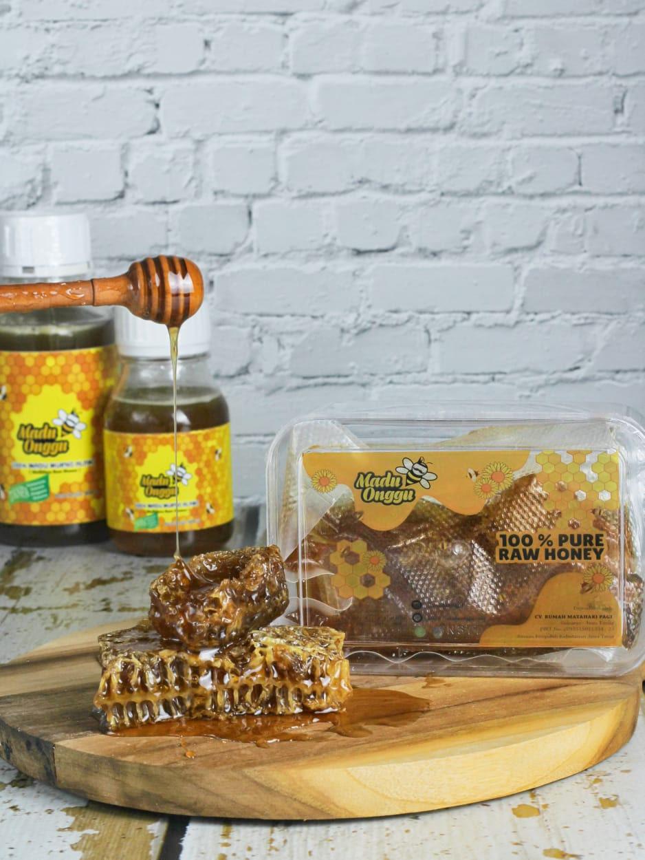 madu asli mellifera honey comb